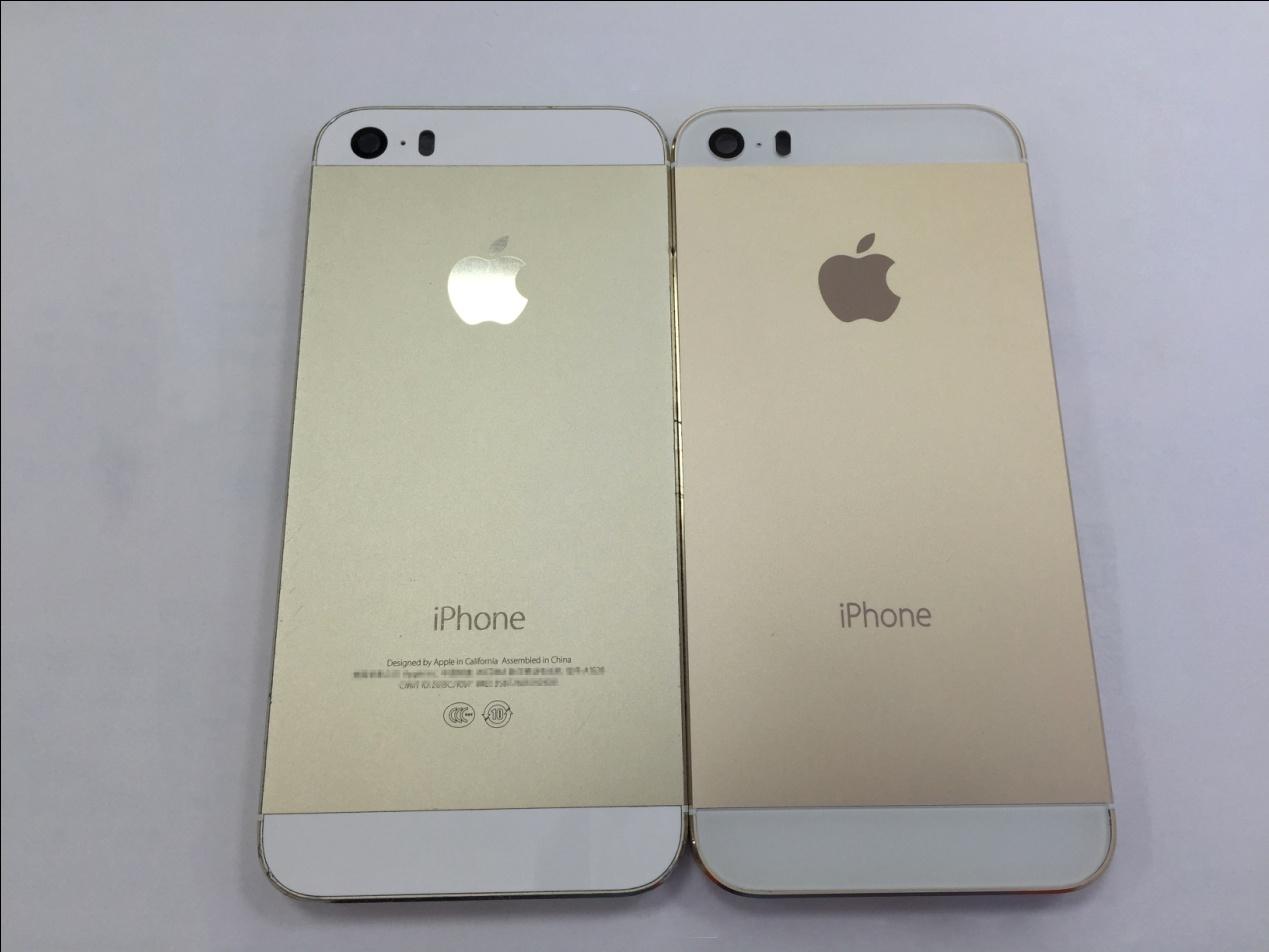 iphone5s底框总成真假